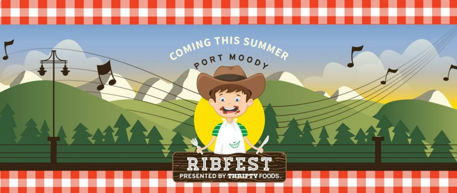 Port Moody Ribfest coming this weekend – social media sponsorship @ Empty Desk Solutions