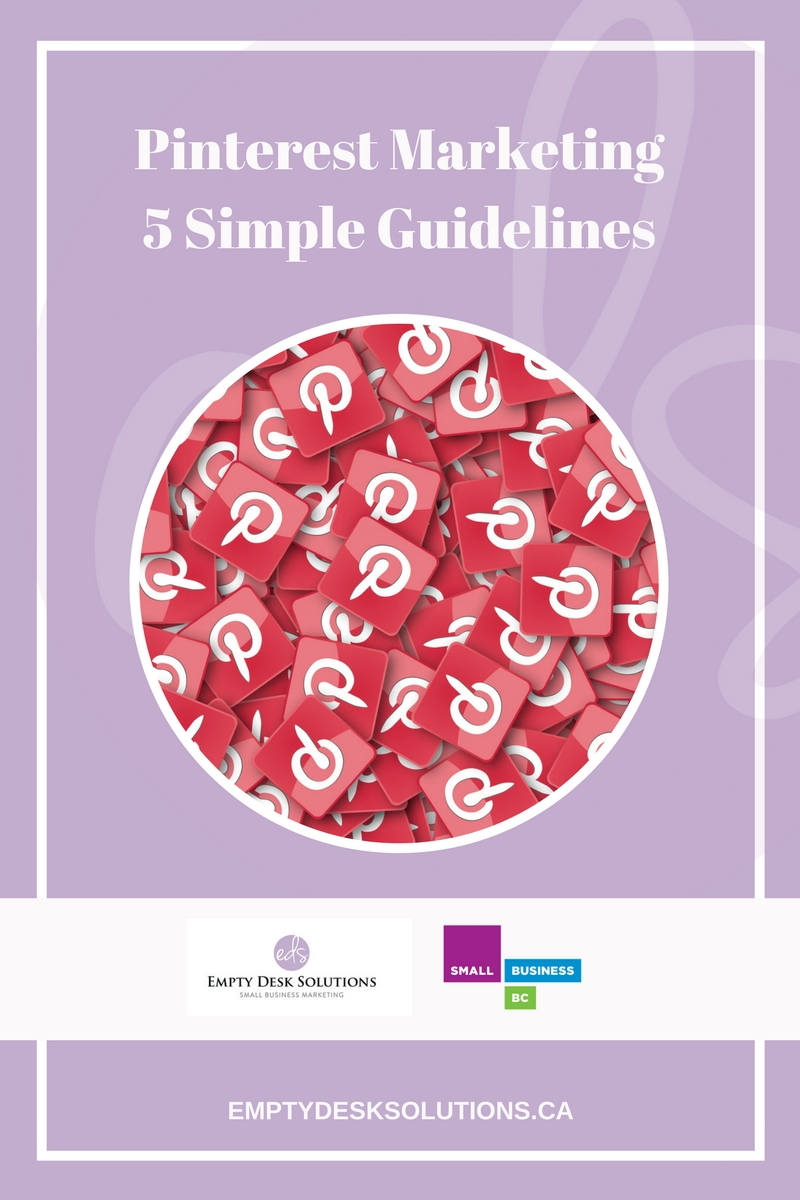 Pinterest Marketing – 5 Simple Guidelines as featured on