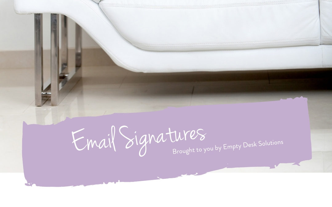 An interview about email signatures