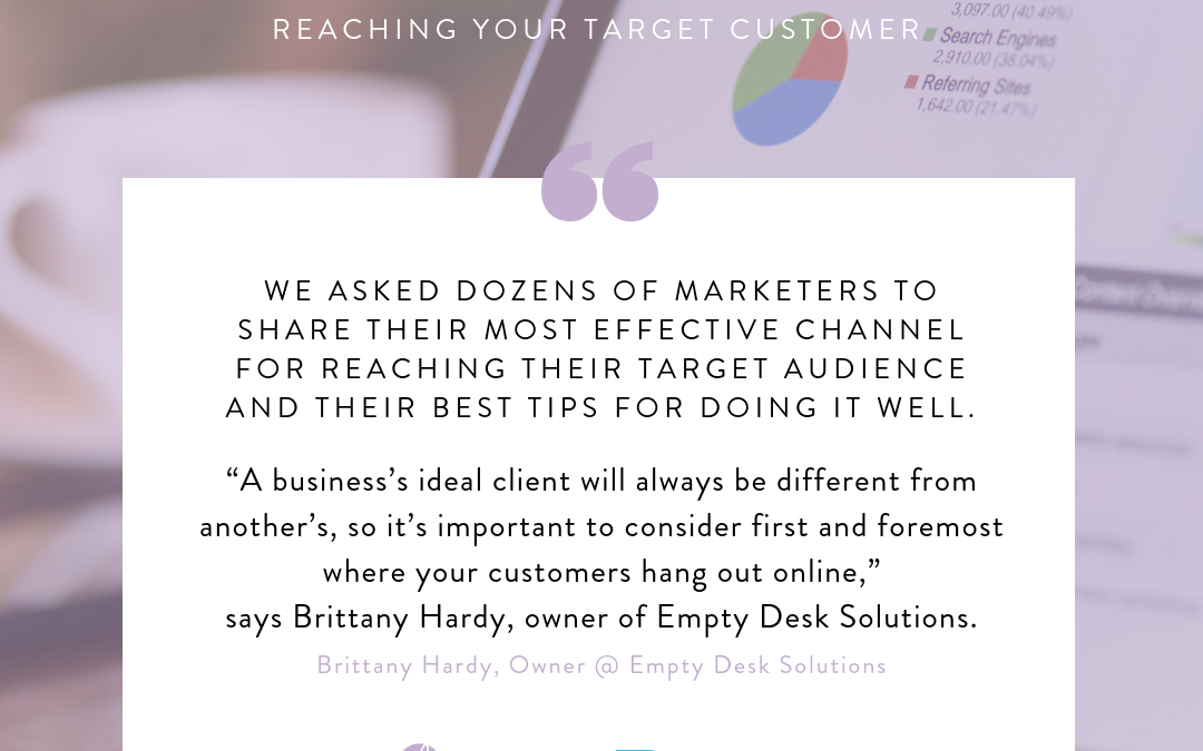 The Most Effective Channels for Reaching Your Target Customer From Databox