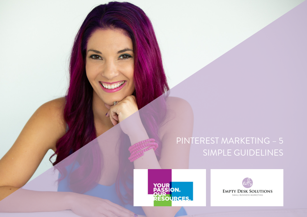 PINTEREST MARKETING – 5 SIMPLE GUIDELINES – Brittany on Small Business BC