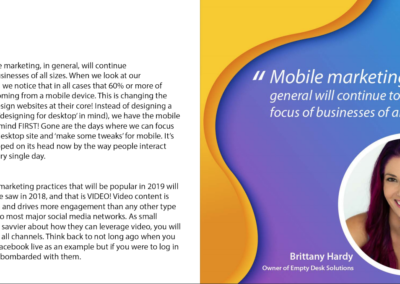 Brittany in 'The MoEngage Book of Marketing Trends 2019 is Here' from MoEngage