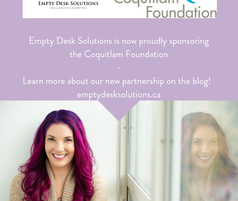 Proudly Sponsoring The Coquitlam Foundation