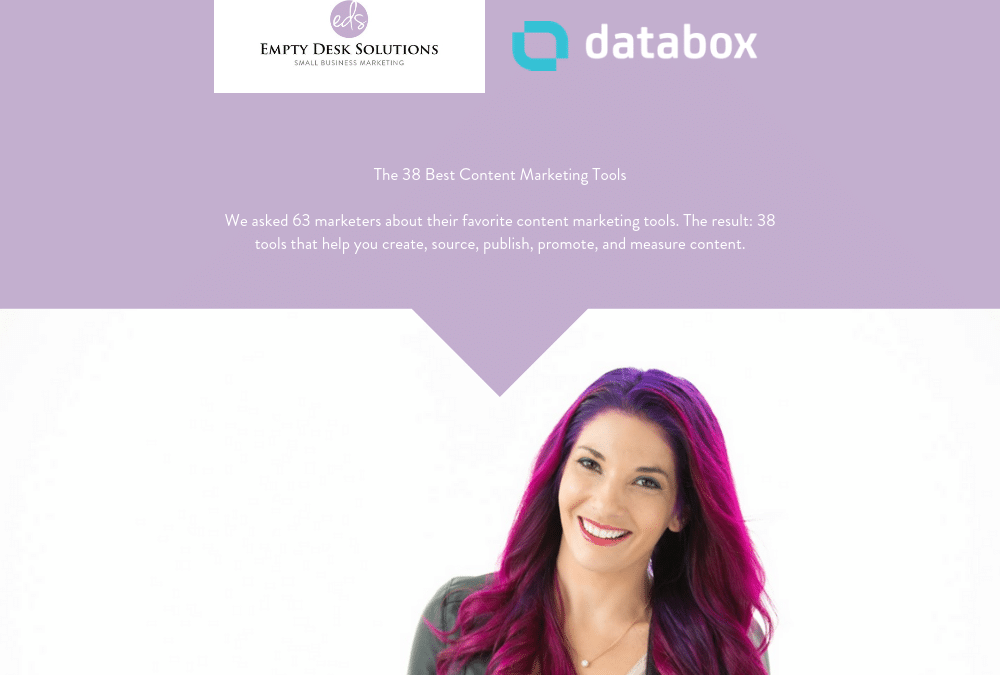 The 38 Best Content Marketing Tools – Brittany on Databox