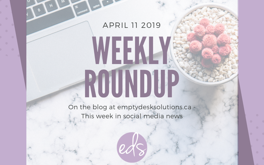 Weekly Round Up: Top 10 Things in Social Media This Week – April 11