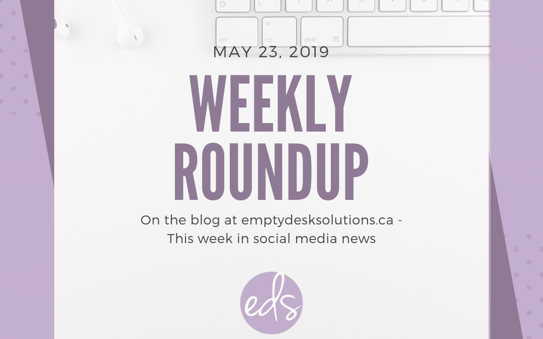 Weekly Round Up – May 23