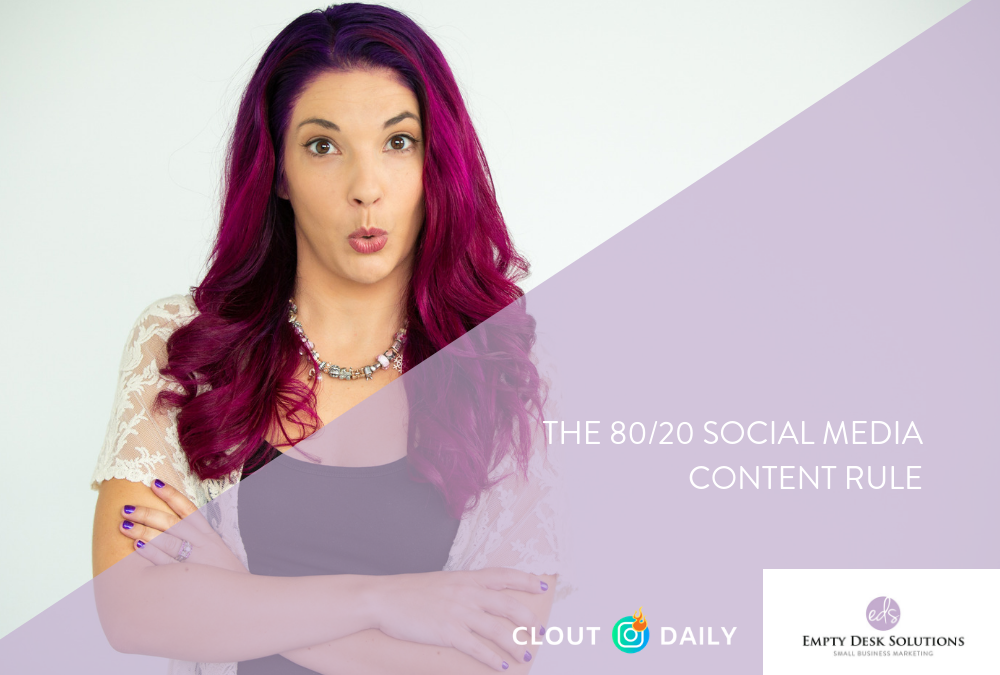 The 80/20 Social Media Content Rule