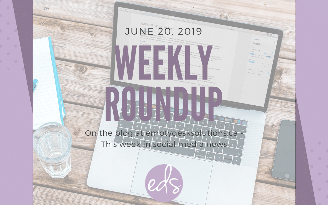 Weekly Round Up – June 20