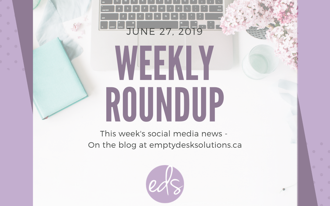 Weekly Round Up – June 27