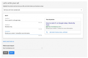 How To Easily Write Ads For Google