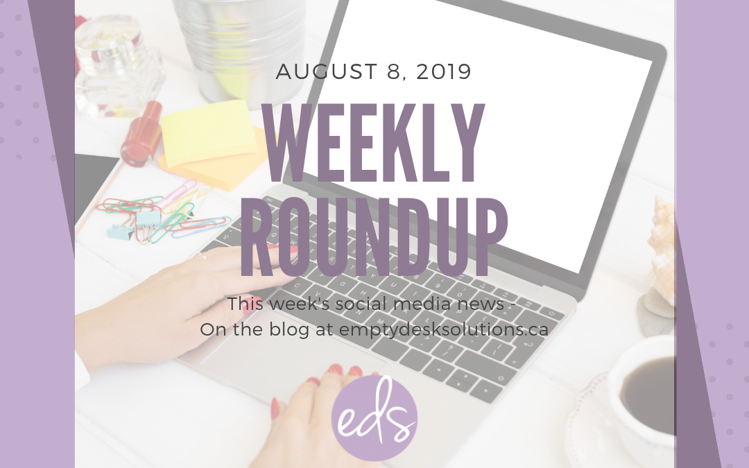 Weekly Round Up – August 8