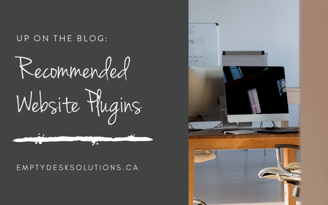 Recommended Website Plugins