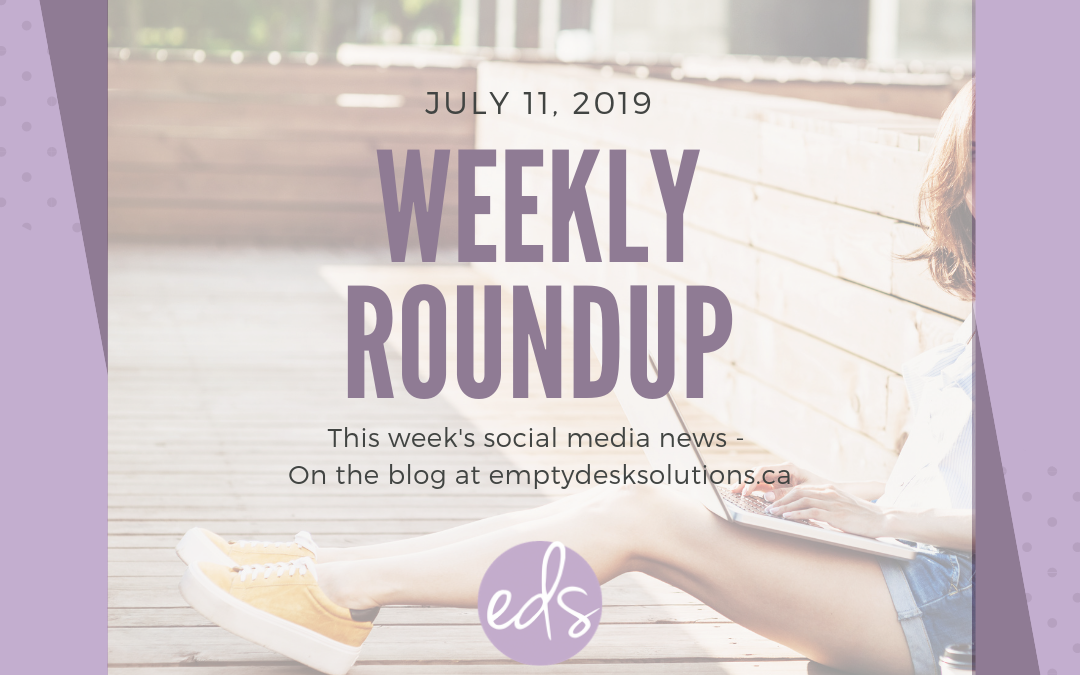 Weekly Round Up – July 11