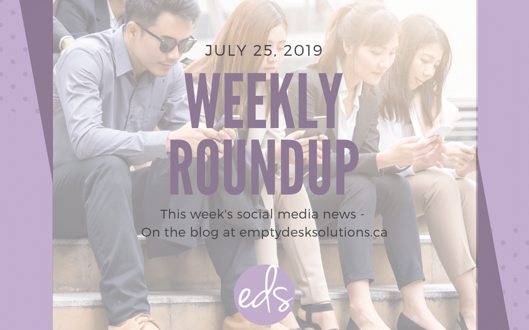 Weekly Round Up – July 25