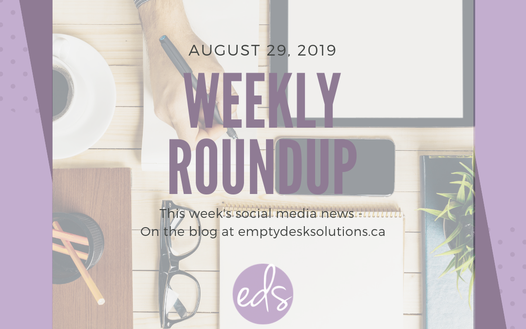 Weekly Round Up – August 29