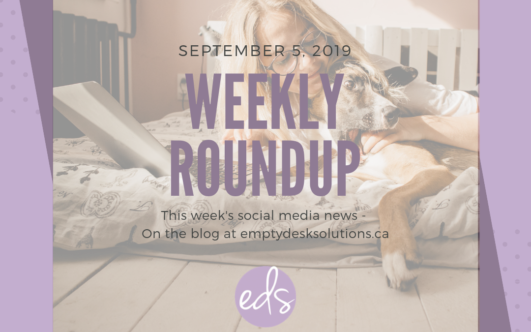 Weekly Round Up – September 5