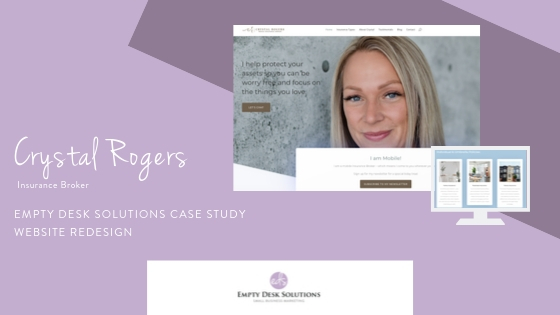 Website Redesign Case Study: Crystal Rogers